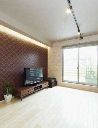 空間の活用と光の家