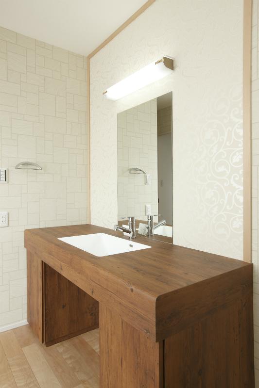 2階ホール洗面