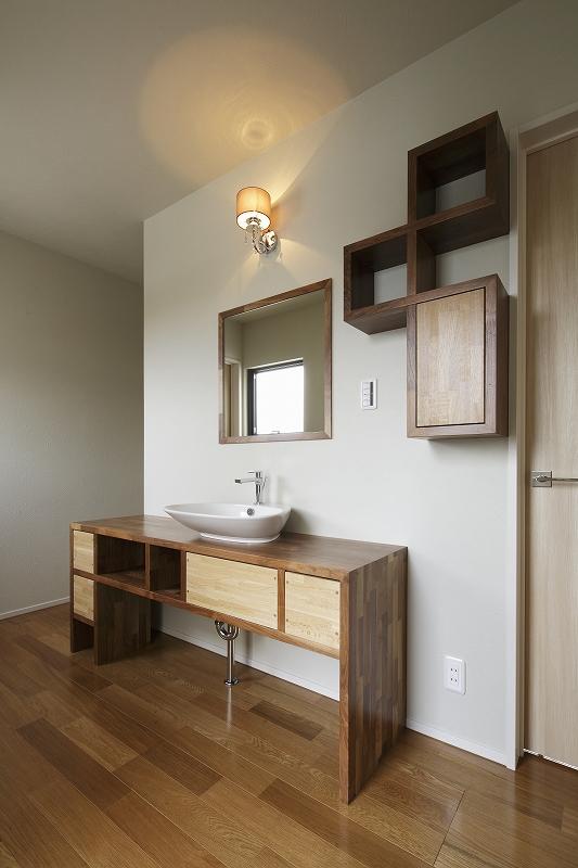 ホールの手洗いスペース
